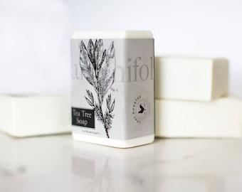 Tea Tree Soap - AntiBacterial Soap - Vegan Soap