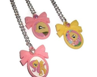 My Little Pony Cameo, Fluttershy Necklace Choose 1 of 3