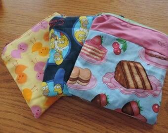 Zipper wet bag  - reusable ziplock snack bag