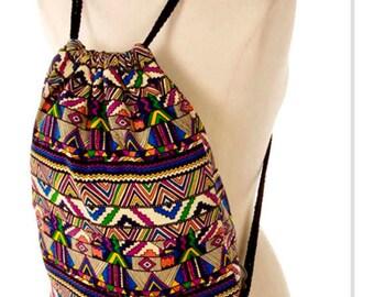 Drawstring Backpack bag, sports gym bags, draw string backpack, back to school backpack, unique gifts, yoga bags, birthday gift for mom