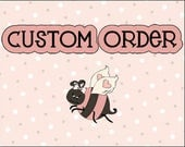 Custom Listing for Katy - One (1) 8 oz Fudge Brownie Whipped Body Butter (Birthday Design #30)