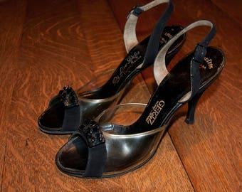 1950's High heel Sandals - 6 Narrow