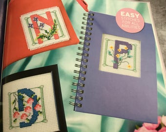 ART NOUVEAU ABC - Cross Stitch Pattern Only
