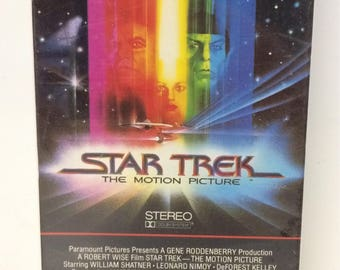 SEALED Star Trek The Motion Picture Special Longer Version NEW VHS
