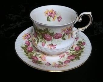 Cup & Saucer Queen's Wild Flowers