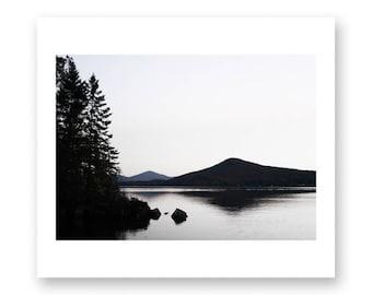 Minimalist art, minimalist wall art, black and white photography, nature photography, large art, large wall art, Vermont art, mystic, zen