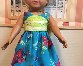 Troll Dress with Removable Corcet