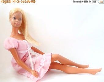 ON SALE Vintage 1971 Malibu Barbie By Mattel, TNT (Twist & Turn Waist), Bendable Legs,  Made In Japan, Collectible Barbie
