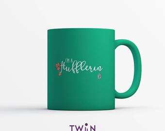 I'm A HUFFLERIN MUG - Hufflepuff and Slytherin - Harry Potter Gift