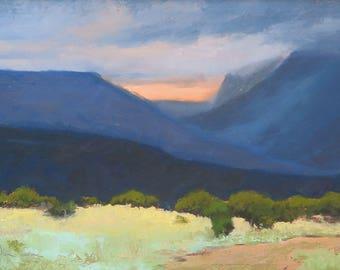 Rayado Summer Storm - Philmont - New Mexico - Original Oil Landscape Painting