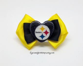 Steelers Hair Bow