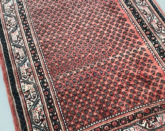 "SHIPS FREE! Vintage Persian Area Rug - 6'11"" x 4'2"""