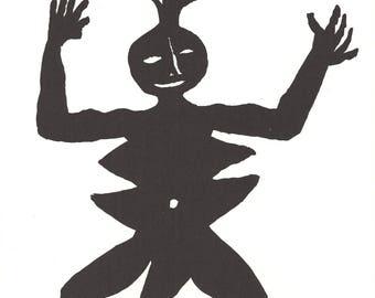 Alexander Calder-Untitled-1963 Lithograph
