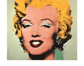 Andy Warhol-Marilyn-1991 Poster