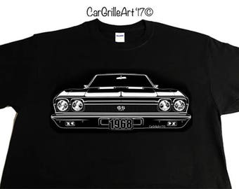 1968 Chevelle SS 396, El Camino SS T-Shirt