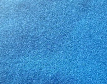 Designtex Upholstery Fabric Pigment Blue Wool - 2.875 yards - G82