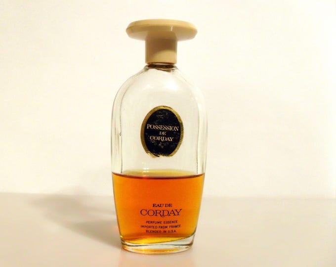 CLEARANCE Vintage 1960s Possession de Corday 2 oz Eau de Corday Splash PERFUME