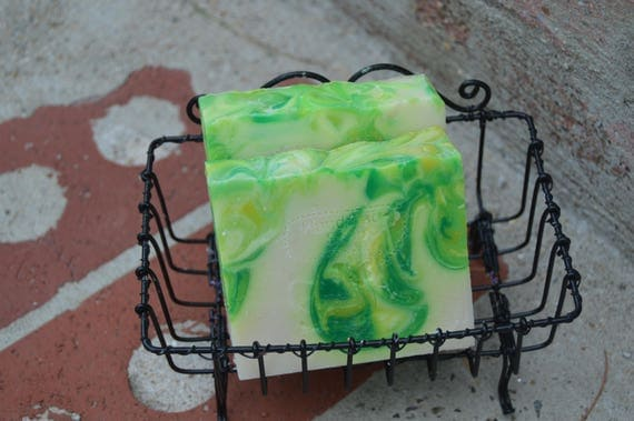 Lemongrass and Green Tea Vegan Artisan Soap Bar 5oz