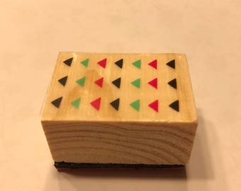 small arrows rubber stamp, 1 1/4 inch (BB4/9)