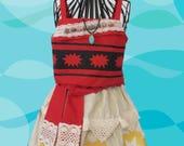 girl's Moana costumes...