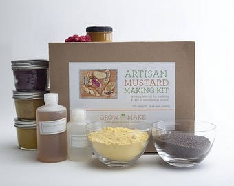DIY Artisan Mustard Kit