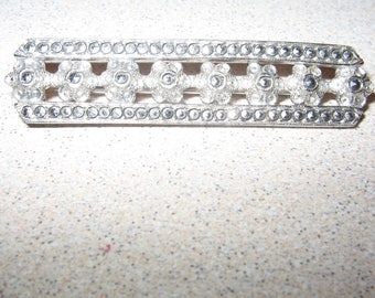 Sterling Silver Pin Brooch Vintage Costume Jewelry #2416