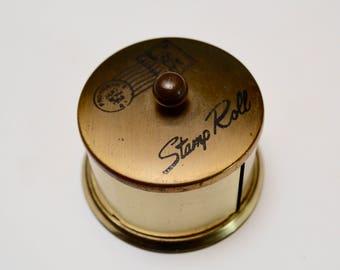 vintage stamp holder / dispenser