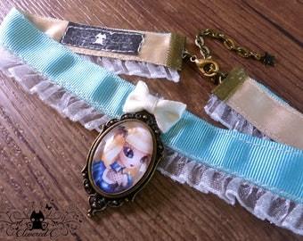 Handcrafted  Alice in Wonderland // Steampunk fanart