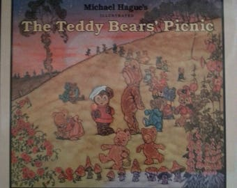 Michael Hague's The Teddy Bears' Picnic First Edition Jimmy Kennedy Children's Book