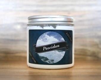 Poseidon Body Lotion | 4.5 oz | Avocado, Jojoba, and Shea Lotion | Royalty Soaps