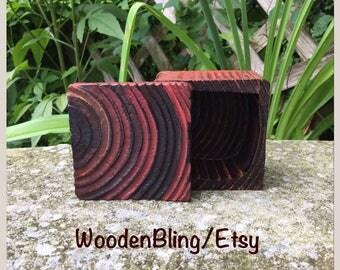 Stash Box, Shou Sugi Ban, Burned Wood, Jewelry Box, Wood Burn, Keepsake Box, Bandsaw Box, Gift for Him, Birthday,  Unique, Reclaimed Wood