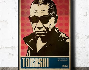 Takashi Miike Film Director Poster