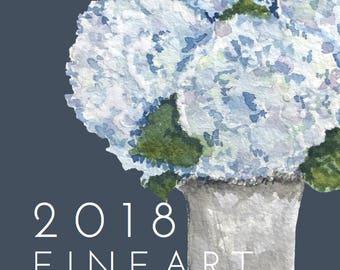 2018 Fine Art 5x7 Calendar