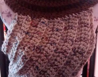 Crochet cross body vest