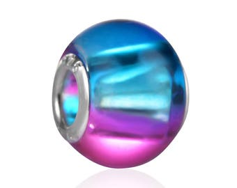 Pearl MURANO crystal, 15mm, ref: PM001BR