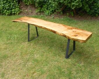 Custom Order for Brandon -  ONE Flat Steel Bench Leg