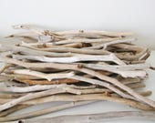 45 Driftwood Pieces -- From 35 to 45 cm -- Bulk Driftwood Supply -- Natural Beach Wood Supply  {Custom Order for Mark}