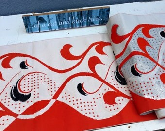 Original japanese obi, part of a kimono.