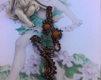 Woodland Forest Fairy Pendant