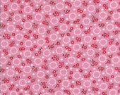 Tiny Pink Flowers - Tiny White Flowers - Pink Fabric - Windowsill Garden - Darlene Zimmerman