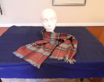 Vintage 100% Acrylic Scarf Made In France