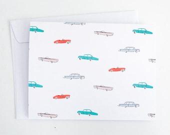 Road Trip - Blank Note Card