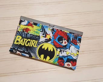 Diva Frame Wallet | bat girl  | high quality materials | metal frame | super hero