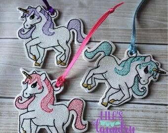 Sparkly Unicorn Ornament