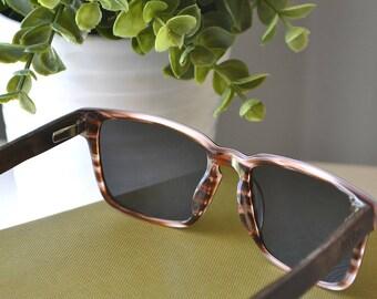 Wood Sunglasses | Men's Wooden Sunglasses | Walnut Wood Sunglasses