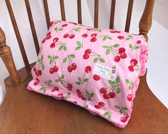 Pink Cherry Baby Nursing Arm Pillow Sleeve