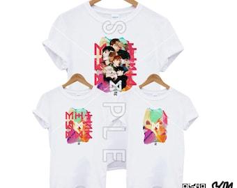 Monsta X Dramarama/The Code Tshirt
