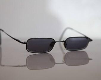 Vintage MC 287 JUNIOR Eyewear,  Black Frame,   Gray Lenses RX Prescription . Rare Piece.