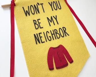 Mister Rogers' Neighborhood Banner