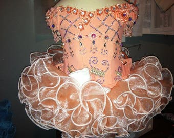 Girls Semi Glitz Pageant Dresses